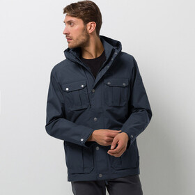 Jack Wolfskin Livingstone Veste Homme, night blue